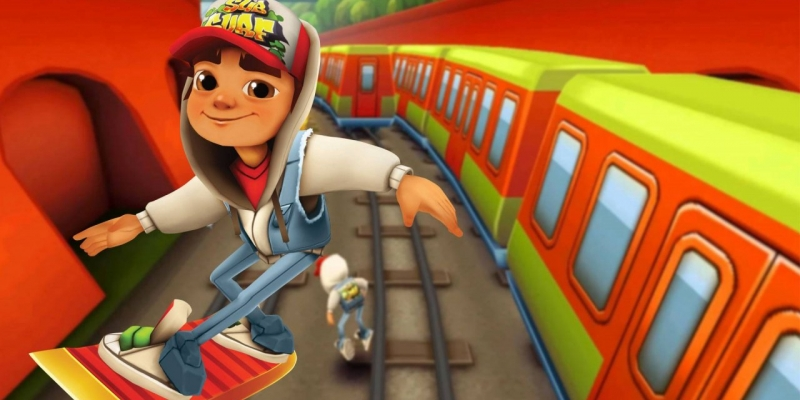 The Subway Surfers 'competition'