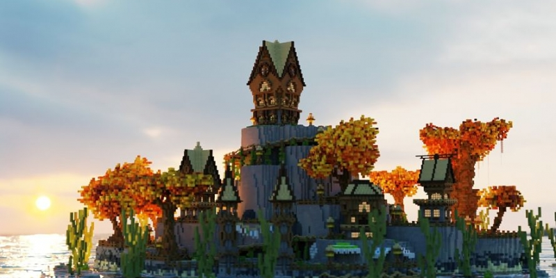 Quality architecture and design in Minecraft