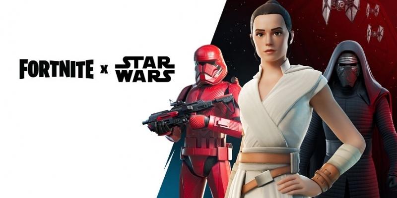 Epic Fortnite celebrates Star Wars