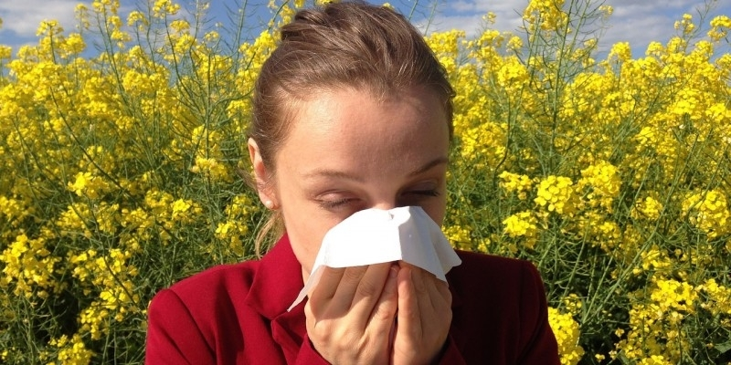 The Weather Channel helps prevent allergy