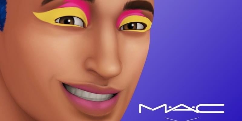 MAC cosmetics add to The Sims