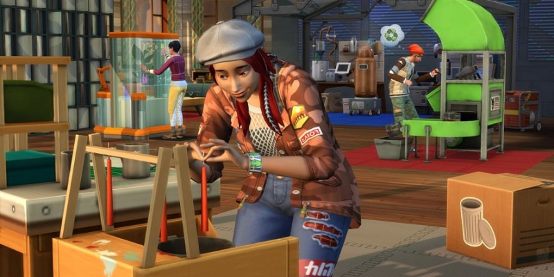 The Sims will recycle in their new expansion