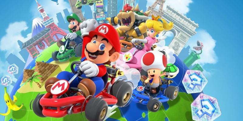 Mario Kart Tour adds team races