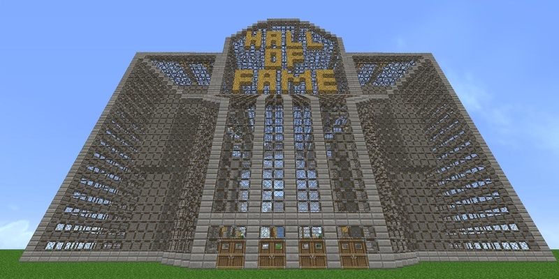 Minecraft in the World Video Game Hall of Fame