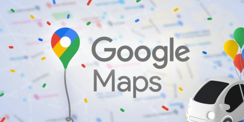 News on Google Maps for the celebration of his 15th birthday