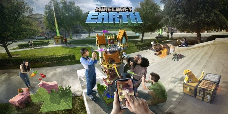 The new challenge season for Minecraft Earth
