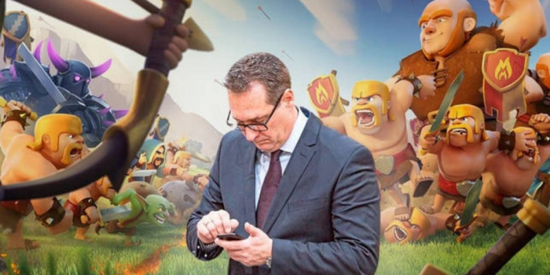 Politician spends thousands of euros from his party in Clash of Clans