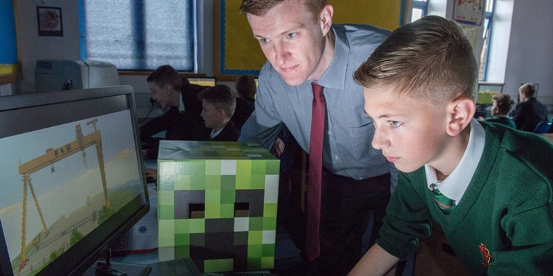 Poland encourages the use of Minecraft