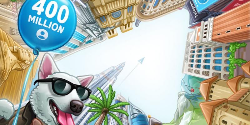 Telegram celebrates 400 million users