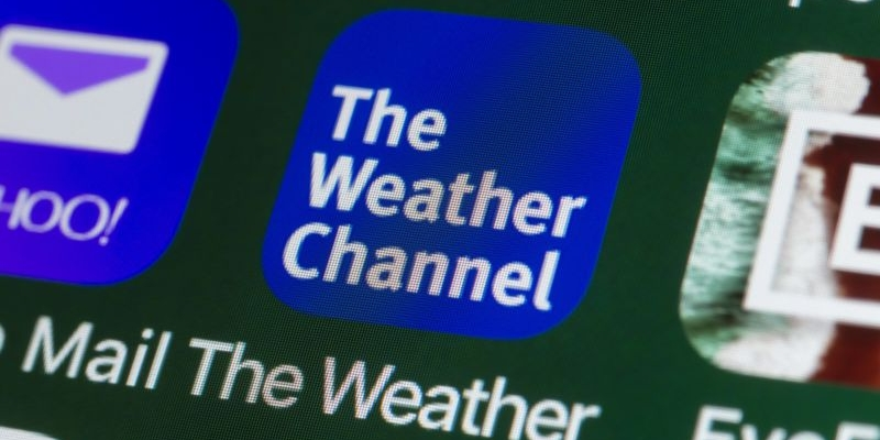 The Weather Channel among the best mobile apps