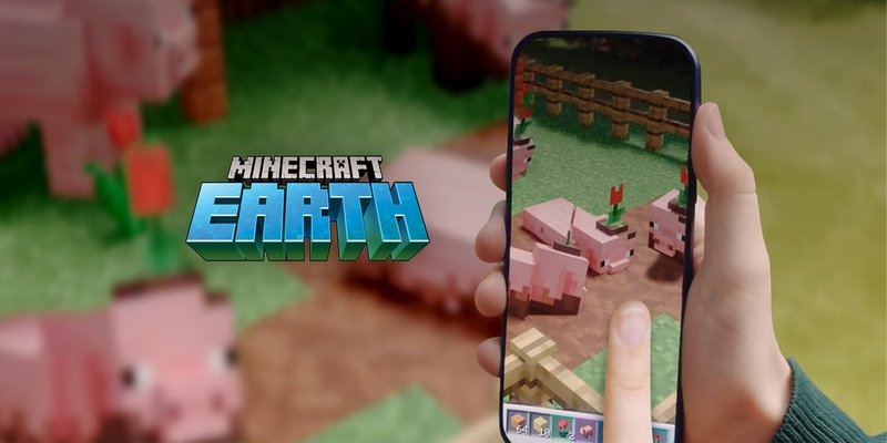 Minecraft Earth pulling support